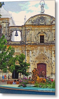 The Cathedral Of Leon Metal Print