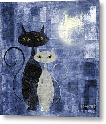 The Cats Metal Print by Jelena Jovanovic