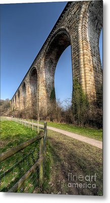 The Cefn Mawr Viaduct Metal Print by Adrian Evans