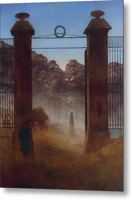 The Cemetery Metal Print