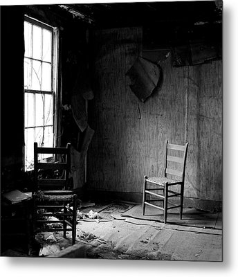 The Chair Metal Print by Wendell Thompson