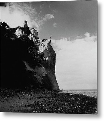 The Chalk Cliffs Metal Print by Horst P. Horst