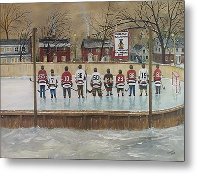 The Champs - 2013 Stanley Cup  Metal Print by Ron  Genest