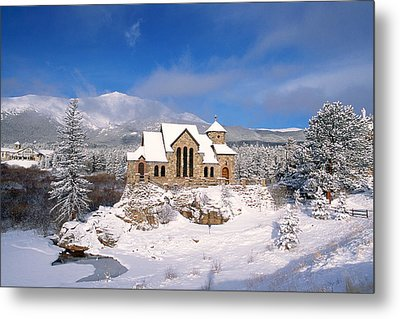 The Chapel On The Rock 3 Metal Print by Eric Glaser