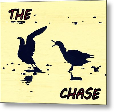 The Chase Metal Print by Pamela Hyde Wilson