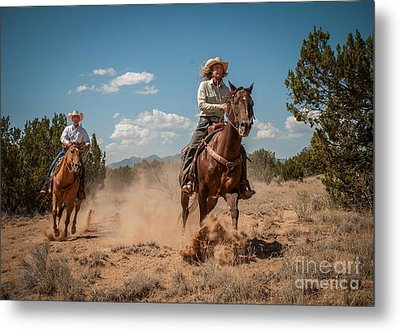 The Chase Metal Print by Sherry Davis