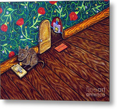 The Cheese Thief Metal Print by Jay  Schmetz