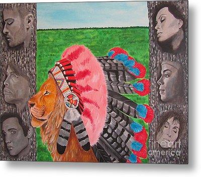 The Cherokees Metal Print by Jeepee Aero