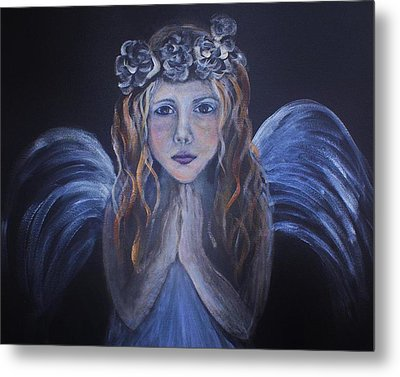 The Child Within Metal Print by The Art With A Heart By Charlotte Phillips