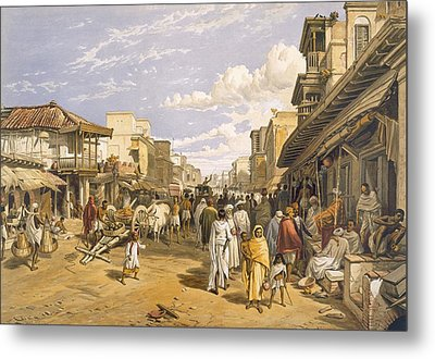 The Chitpore Road, From India Ancient Metal Print