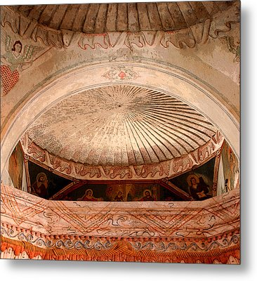 The Choir Loft Metal Print by Joe Kozlowski