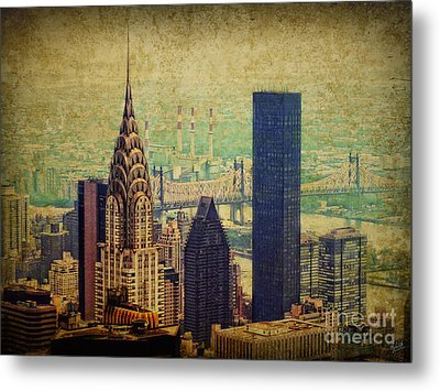The Chrysler Metal Print by Nishanth Gopinathan