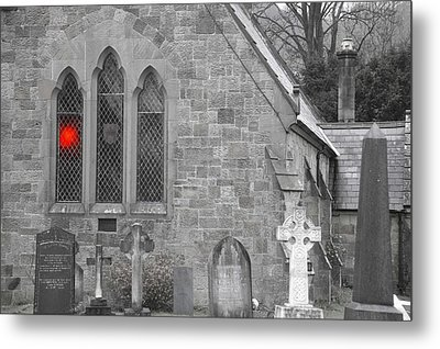 Metal Print featuring the photograph The Church 2 by Christopher Rowlands
