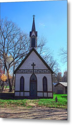The Church At Billie Creek Metal Print by Thomas Sellberg