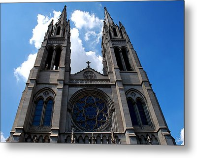 The Church Metal Print by Matt Harang