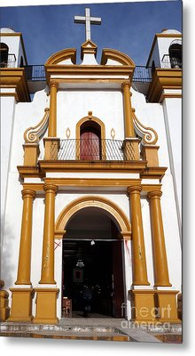 The Church Of Guagalupe 2 Metal Print