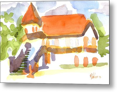 The Church On Shepherd Street V Metal Print by Kip DeVore
