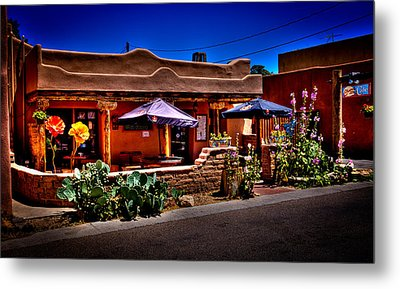 The Church Street Cafe - Albuquerque New Mexico Metal Print by David Patterson