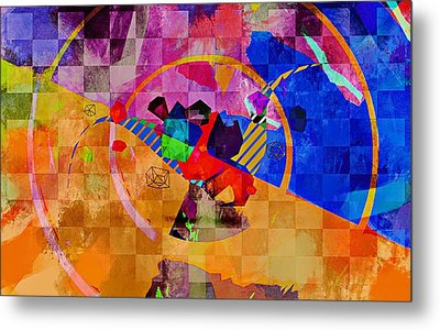 Metal Print featuring the photograph The Circle Game by Allen Beilschmidt