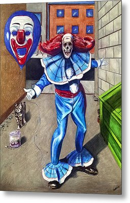 The Circus Is Coming To Town Metal Print