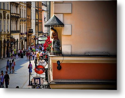 The City Can See You Metal Print by Joanna Madloch