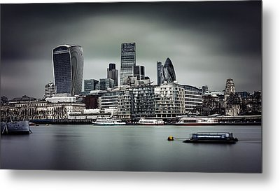 The City Of London Metal Print by Ian Good