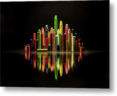 The City Of Colors Metal Print