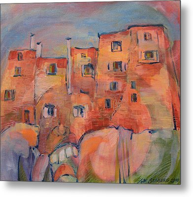 The City Walls Watch Metal Print