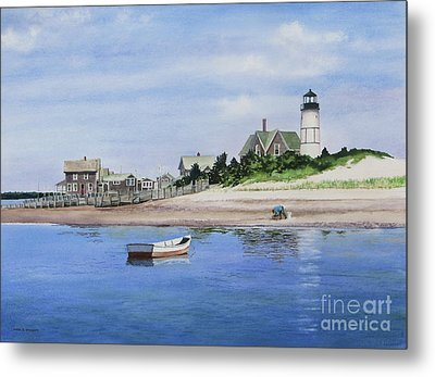 The Clammer Metal Print