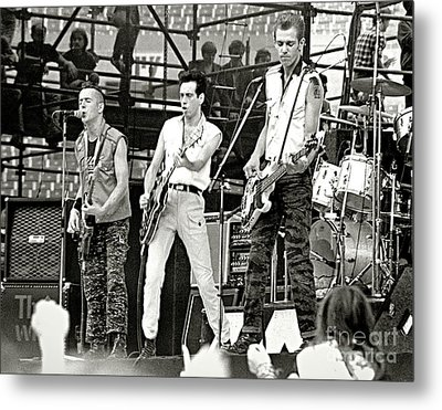 The Clash 1982 Metal Print