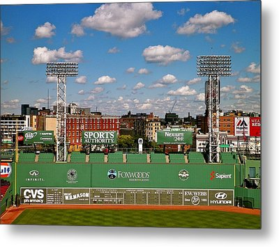 The Classic II Fenway Park Collection  Metal Print by Iconic Images Art Gallery David Pucciarelli