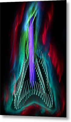 The Classic V 5 Metal Print by Patrick Daniel Trombly