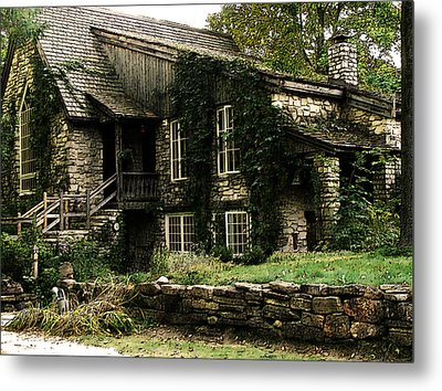The Clearing Lodge Metal Print