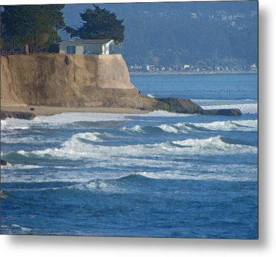 The Cliff House Metal Print by Deana Glenz