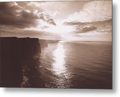 The Cliff Of Moher Ireland Metal Print by Panoramic Images