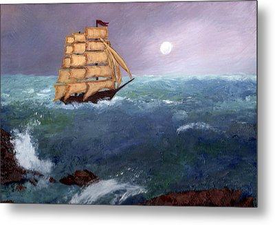 The Clipper Metal Print by J Cheyenne Howell