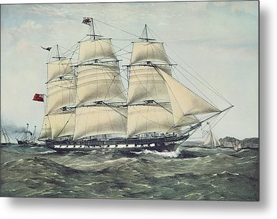 The Clipper Ship Anglesey Metal Print by Anonymous