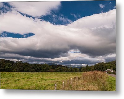 Metal Print featuring the photograph The Clouds by Sergey Simanovsky