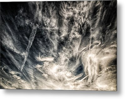The Clouds Talk Metal Print by J Riley Johnson