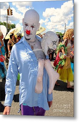 Metal Print featuring the photograph The Clown by Ed Weidman