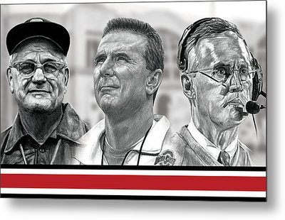 The Coaches Metal Print by Bobby Shaw
