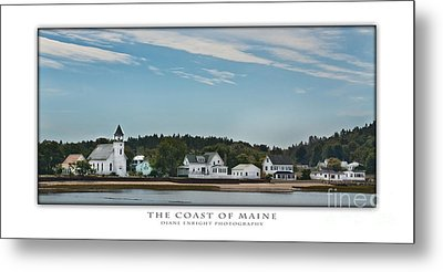 The Coast Of Maine Metal Print