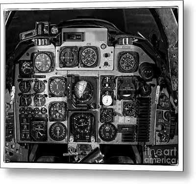 The Cockpit Metal Print by Edward Fielding