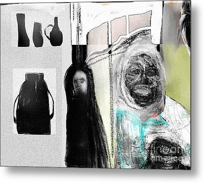 The Collector Metal Print by Rc Rcd