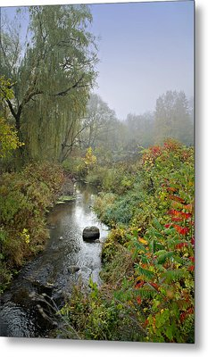 The Color Of Autumn Metal Print by Judy  Johnson