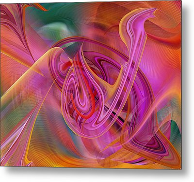 The Color Of Flight Metal Print