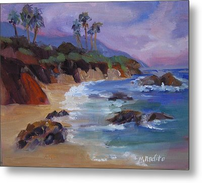 The Color Of Laguna Metal Print