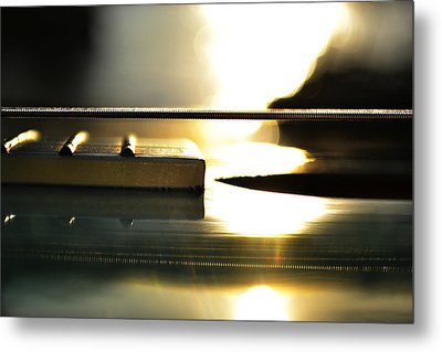 The Color Of Music Metal Print by Laura Fasulo