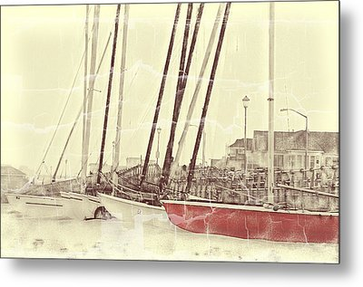 The Color Red Metal Print