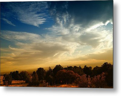 The Colorful Sky New Mexico Metal Print